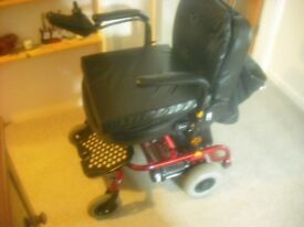 Shoprider Powered wheelchair-swp for guitar, mandolin, violin etc