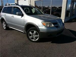 2005 Mitsubishi Outlander AWD XLS MAGS / A/C / GROUPE ELECTRQUE