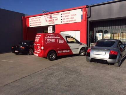 Smash Repairs Panel Beating Spray Painting Business Shop for sale