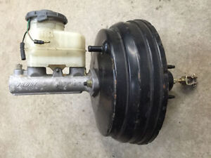 2001 Acura Integra Type R P73 Brake Booster and Master Cylinder