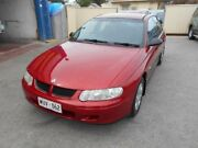 2002 Holden Commodore VX II Executive Red Mica 4 Speed Automatic Sedan Christies Beach Morphett Vale Area Preview