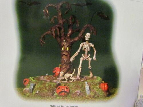 2004 Dept. 56 Halloween:  Taking Bones For A Walk ~ Repair/Parts ~ NO RETURNS