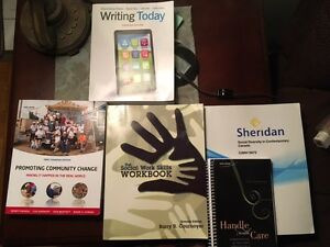 1st Year Sheridan College Social Service Woker Textbooks