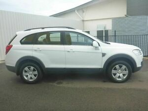 2009 Holden Captiva CG MY09 CX AWD White 5 Speed Sports Automatic Wagon Garbutt Townsville City Preview
