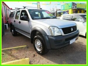 2003 Holden Rodeo RA LX Crew Cab 4x2 Silver 4 Speed Automatic Utility