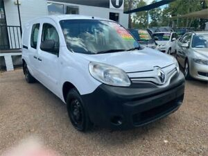 2014 Renault Kangoo F61 Phase II Maxi White 6 Speed Manual Van Minchinbury Blacktown Area Preview