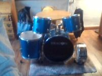 dragon drums shell pack good condition ideal for beginner 20pounds