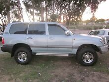 2001 Toyota Landcruiser FZJ105R 50th Anniversary (4x4) Ice Blue 4 Speed Automatic Wagon Mount Lawley Stirling Area Preview