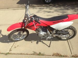 2007 HONDA CRF 80 dirt bike for sale