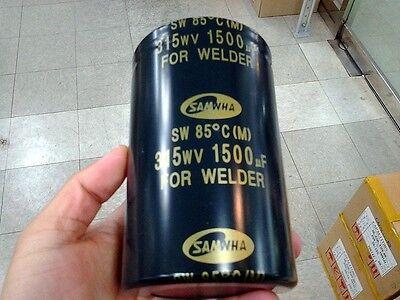 Samwha Electrolytic Capacitor 1500uF, 315V(for WELDER)