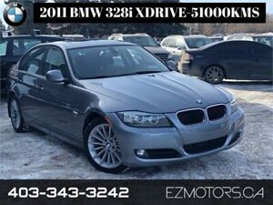 2011 BMW 328i xDrive Executive Edition only 52000kms!!