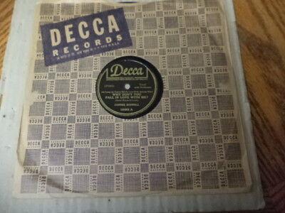 WW2 Decca 78/CONNEE BOSWELL/E!
