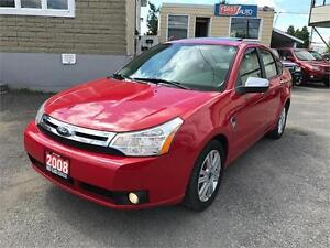 2008 Ford Focus SES - Fully Loaded - Leather Interior - SO CLEAN