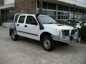 2010 Isuzu D-MAX TF SX (4x2) White 5 Speed Manual Crew Cab Utility Wangara Wanneroo Area Preview