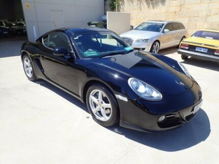 2009 Porsche Cayman 987 MY10 PDK Black 7 Speed Sports Automatic Dual Clutch Coupe Wangara Wanneroo Area Preview