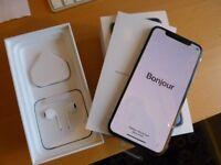 iPHONE X 256GB - BRAND NEW - UNLOCKED - SILVER - APPLE WARRANTY