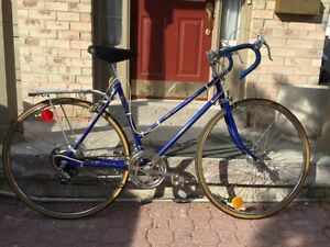 "19.5""/49cm 12 Speed Competition Blue Road Bike 27 Wheel"