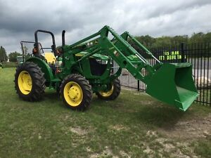 NEW JOHN DEERE 5055E, W/ LOADER - MUST SEE DEAL - SAVE $
