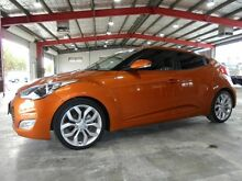 2012 Hyundai Veloster FS Coupe D-CT Orange 6 Speed Sports Automatic Dual Clutch Hatchback Welshpool Canning Area Preview