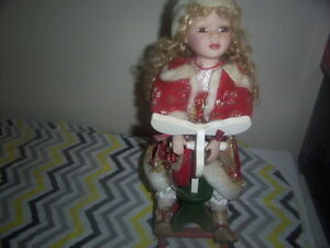 Jewelry Stands,Christmas Doll On Rocking Horse Kingston Kingston Area image 7