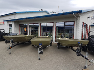 14' - 20' Jon boats in stock