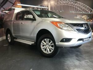 2012 Mazda BT-50 UP0YF1 XTR Silver Sports Automatic Utility Prospect Blacktown Area Preview