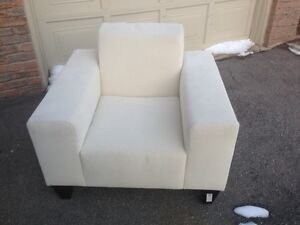 Brand new chair made in a washable fabric