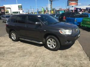 2009 Toyota Kluger GSU40R KX-S (FWD) Gunmetal Grey 5 Speed Automatic Wagon Cardiff Lake Macquarie Area Preview