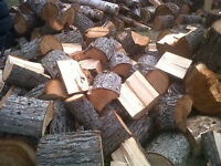 Fir firewood. dry. seasoned. old growth