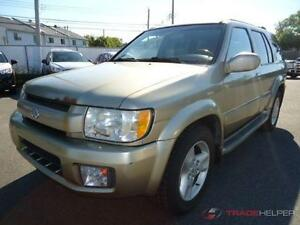 2002 INFINITY QX4 AUTOMATIQUE CLIMATISEE CUIR TOUTES OPTIONS PRO