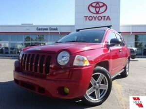 2008 Jeep Compass 4X4/LOW KM/POWER GROUP/ALLOY WHEELS/CRUISE CON