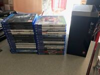 Playstation 4 PS4 SLIMLINE *BRAND NEW SEALED BOX* With 30 TOP GAMES SWAP MACBOOK OR WHY
