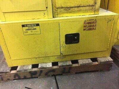 Justrite 12 Gallon Flammable Storage Cabinet