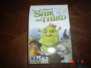 Shrek the 3rd - PC Game. Sealed