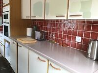 FREE kitchen units and a sink. Available from 26th July. Perfect for outbuilding or temporary use.