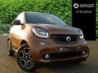 smart fortwo coupe PRIME PREMIUM PLUS (brown) 2016-12-12