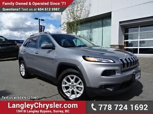2016 Jeep Cherokee Sport ACCIDENT FREE w/ 4X4, HEATED FRONT S...