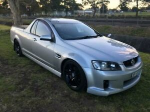 2008 Holden Commodore VE SV6 Silver 5 Speed Automatic Utility Mayfield East Newcastle Area Preview