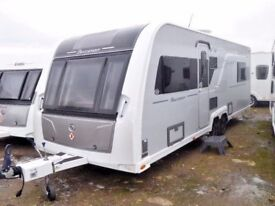 Buccaneer Caravel,Island bed,twin axle,Sat TV,8ft,Movers,Auto leveling.