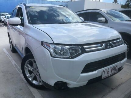 2013 Mitsubishi Outlander ZJ MY14 ES 2WD Starlight 6 Speed Constant Variable Wagon Aspley Brisbane North East Preview