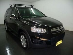 2012 Holden Captiva CG Series II 7 Black Sports Automatic Wagon Blair Athol Campbelltown Area Preview
