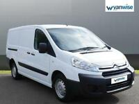 2015 Citroen Dispatch 1200 2.0 HDi 125 H1 Van Enterprise Diesel white Manual