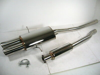Stainless CatBack Exhaust For 07-13 Mini Cooper R57S SR56 MK II 1.6L by OBX-R