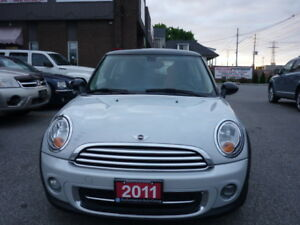 2011 Mini Cooper, No accident,1 year warranty !! Redused