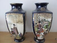 Two Oriental Vases