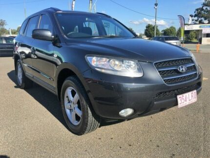 2008 Hyundai Santa Fe CM MY07 Upgrade SX CRDi (4x4) Black 5 Speed Automatic Wagon Wacol Brisbane South West Preview