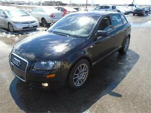 2006 Audi A3 w/Premium Pkg - PAN ROOF | BLACK ON BLACK
