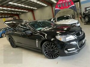2015 Holden Ute VF II MY16 SS Ute Black 6 Speed Sports Automatic Utility