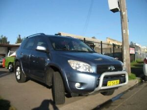 2006 Toyota RAV4 ACA33R Cruiser L (4x4) Blue 4 Speed Automatic Wagon Cambridge Park Penrith Area Preview