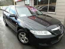 2003 Mazda 6 GG Classic Black 5 Speed Manual Sedan Edgeworth Lake Macquarie Area Preview